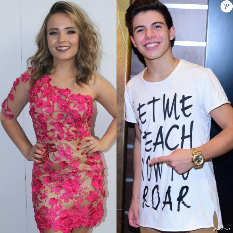 Larissa Manoela e Thomaz Costa curtiram e deixaram festa juntos, diz . 6ef500bda9