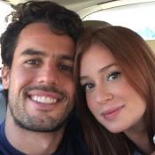 Marina Ruy Barbosa faz declaração para o noivo por Valentine's Day: 'Me faz bem'