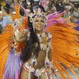 Raissa de Oliveira, rainha de bateria da Beija-Flor,  diz que prefere comer de forma correta o mês todo
