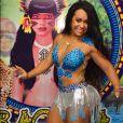 O 3 Minutos da semana é com a rainha de bateria da Beija-Flor, Raissa de Oliveira