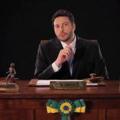 Danilo Gentili faz piada na internet para divulgar seu novo programa no SBT