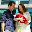 Minna é fruto do seu relacionamento com o Leonardo Antonelli