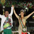 Christiane Torloni chega aos 57 anos prestes a fazer sua estreia no Carnaval como rainha de bateria da Grande Rio