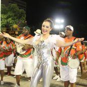 Christiane Torloni faz 57 anos e estreia como rainha de bateria da Grande Rio