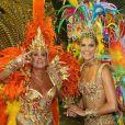 Quem também desfilou na Grande Rio, em 2009, ao lado de Susana Vieira, foi a apresentadora Fernanda Lima