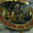 Madrinha da Grande Rio, Susana Vieira desfilou no Abre Alas da escola, no Carnaval de 2013
