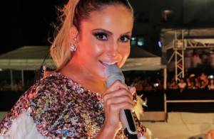 Carnaval: Claudia Leitte anima o público do bloco Largadinho, em Salvador