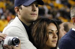 Ashton Kutcher e Mila Kunis vão contracenar juntos em 'Two and a Half Men'
