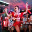 Sabrina Sato foi a musa do Camarote Brahma no Carnaval do Rio