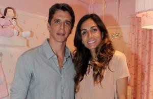 Mulher de Márcio Garcia está em casa, mas bebê segue no hospital: 'Estão bem'