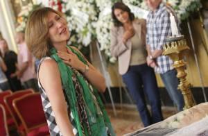 Beth Goulart se emociona ao se despedir do pai, Paulo Goulart: 'Exemplo de amor'