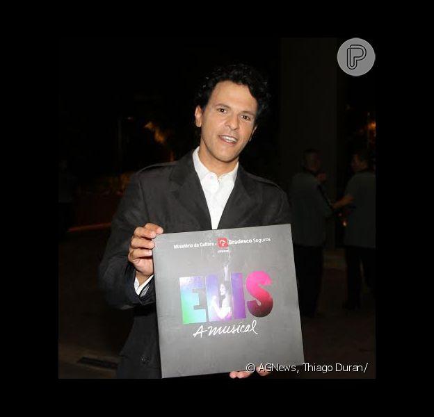 João Marcelo Bôscoli prestigiou a estreia do espetáculo 'Elis, A Musical' em São Paulo, em 16 de março de 2014