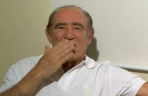 Após infarto, Renato Aragão é internado com infecção urinária em hospital do Rio