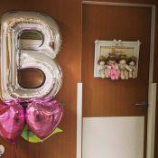 Após dar à luz, Nivea Stelmann mostra lembrancinhas distribuídas na maternidade
