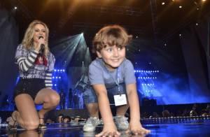 Davi, filho mais velho de Claudia Leitte, completa 4 anos no palco com a mãe