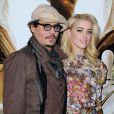 Johnny Depp e Amber Heard noivaram no dia 17 de março de 2014
