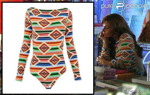 O brinco de brilhantes usado por Clara (Giovanna Antonelli) é da Carla Amorim e custa R$ 56.980