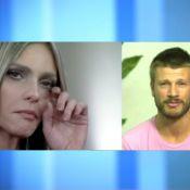 Fernanda Lima chora com declaração de Rodrigo Hilbert: 'Medo de perder'