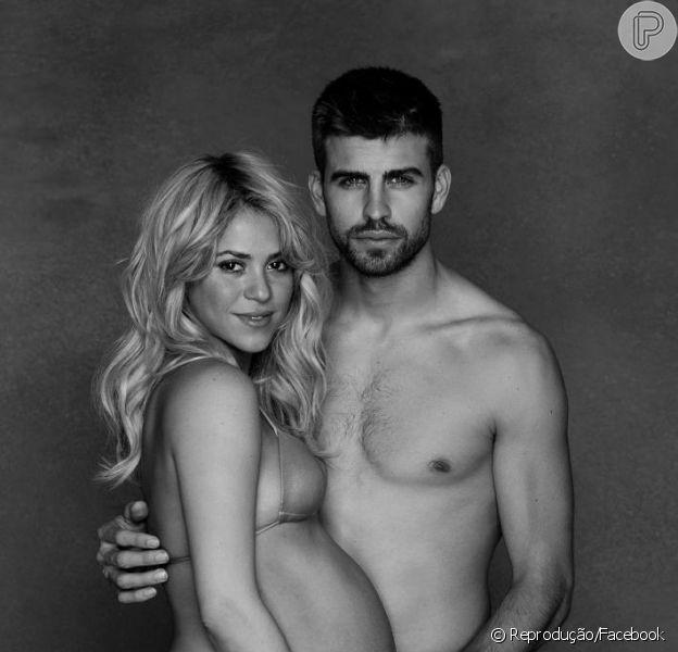Shakira deu à luz Milan, seu primeiro filho, em Barcelona, na Espanha, na noite desta terça-feira, 22 de janeiro de 2013