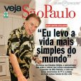 Silvio Santos conta que leva vida simples; apresentador voltou das férias em Miami, nos Estados Unidos, em abril de 2014