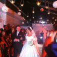 Silvio Santos entrou com Silvia Abravanel no casamento