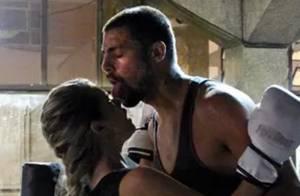 Cauã Reymond e Karen Junqueira gravam cenas quentes para 'O Caçador'. Veja fotos