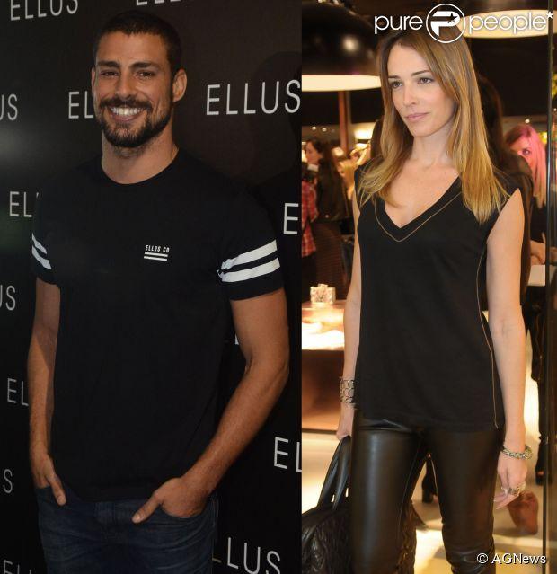 A ex-modelo Camila Espinosa é apontada como novo affair de Cauã Reymond (14 de maio de 2014)
