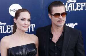 Brad Pitt leva soco durante a pré-estreia de 'Malévola'