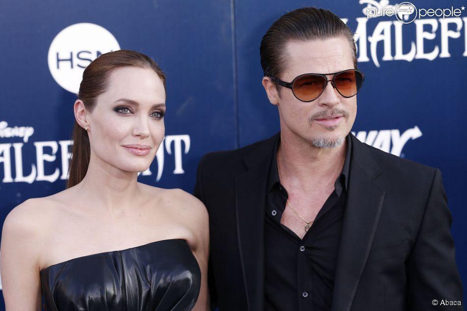 Brad Pitt sofreu uma agressão ao participar da pré-estreia de 'Malévola', nesta quarta-feira, 28 de maio de 2014