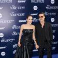 Brad Pitt acompanhava Angelina Jolie na estreia do filme, protagonizado pela mulher