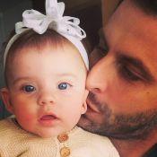 Henri Castelli mostra que a filha, Maria Eduarda, é a sua cara: 'Amor maior'