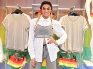 Pabllo Vittar sobrepõe camisa social com top em evento em loja. Fotos do look!