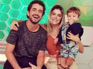 Filho de Rafa Brites e Felipe Andreoli ganha festa de Carnaval: 'Bloco do Rocco'