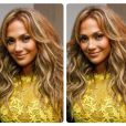 Depois do show, Jennifer Lopez usou um vestido amarelo da estilista brasileira Lethicia Bronstein