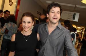 Murilo Benício e Débora Falabella vão juntos a estreia de peça no Rio
