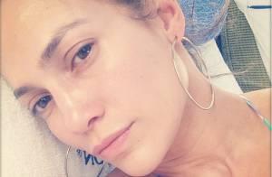 Jennifer Lopez publica foto sem maquiagem em dia de piscina: 'Eu acordo assim'
