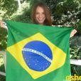 Neymar passou o seu dia de folga, na quarta-feira, 18 de junho de 2014, com Bruna Marquezine. Os dois ficaram no hotel Santa Teresa, no Rio de Janeiro