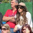 Recentemente, a atriz surpreendeu Neymar e assistiu a um treino da seleção