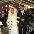 Dado e Viviane se casaram em 2009 e ficaram juntos por 11 meses