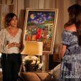 Quando Clara (Giovanna Antonelli) disse a Chica (Natália do Vale) que está apaixonada por Marina (Tainá Müller) ela confessou ter preconceito, na novela 'Em Família'