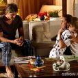 Clara (Giovanna Antonelli) e Cadu (Reynaldo Gianecchini) se separaram, na novela 'Em Família'