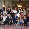 Elenco de 'O Rebu' se reúne na coletiva de lançamento da próxima novela das onze da Globo