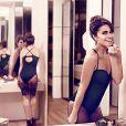 Giovanna Antonelli exibe boa forma em ensaio fotográfico para a marca de lingerie Plié