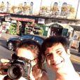 Mateus Solano viajou para Jerusalém com a mulher, a atriz Paula Braun