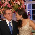 Renato Aragão passou mal após a festa de 15 anos da filha, Lívian Aragão