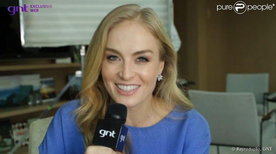 Angélica fala sobre seus cuidados com a beleza em entrevista ao programa 'Superbonita', no GNT