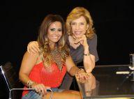 Viviane Araújo diz a Marília Gabriela na TV: 'Sou mais assediada pelas mulheres'