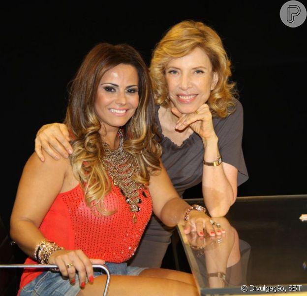 Viviane Araújo é a próxima entrevistada de Marília Gabriela no 'De Frente com Gabi' no SBT; no papo ela fala sobre assédio feminino, em 6 fevereiro de 2013
