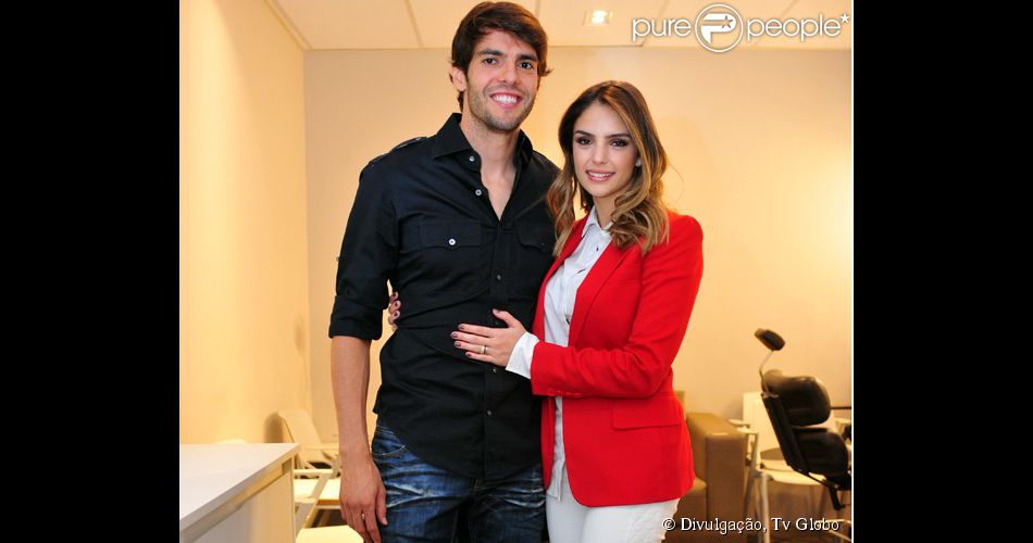 """Kaká participou do """"Domingão do Faustão"""" deste domingo, 6 de julho de 2014"""