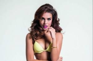 Paloma Bernardi estrela campanha de marca de lingerie e exibe corpão